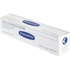 Briemar 70% isopropyl aclohol swab