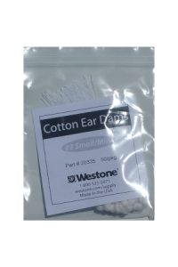 Cotton Ear Dams - Size 3 Small-Mini 50pieces