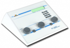 Entomed SA203 diagnostic audiometer  2-channel Air and Bone Conduction conduction and synchronized masking